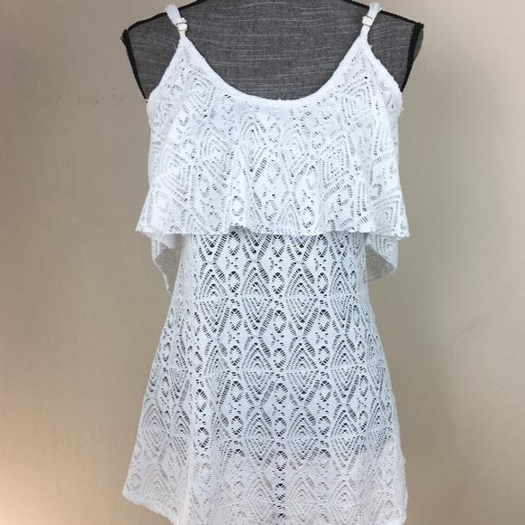2e2a0560ea624 Roxy Ruffle Swim Cover Up Dress